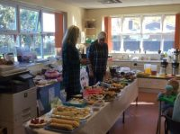 Lots of cakes to buy at our Macmillan Coffee Morning