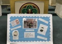 Y4's display work about the life of St. Vincent de Paul