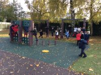 Reception Class Having Lots of Fun